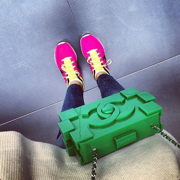 Got inspiration from PiagetRose for my sneaker #PiagetRose