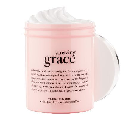 philosophy super-size amazing grace whipped body creme, 16 oz. — QVC.com