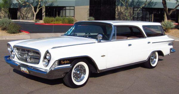 Chrysler automobile - 1962 Chrysler New Yorker wagon