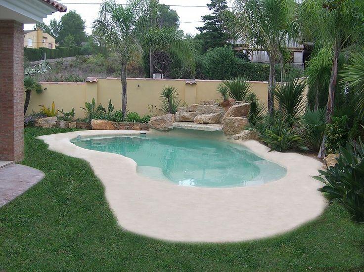 Mejores 13 im genes de piscinas de arena en pinterest for Construccion de piscinas naturales en argentina
