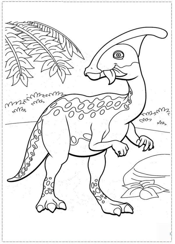 Free Dinosaur Train Coloring Pages Printable Boyama Sayfalari