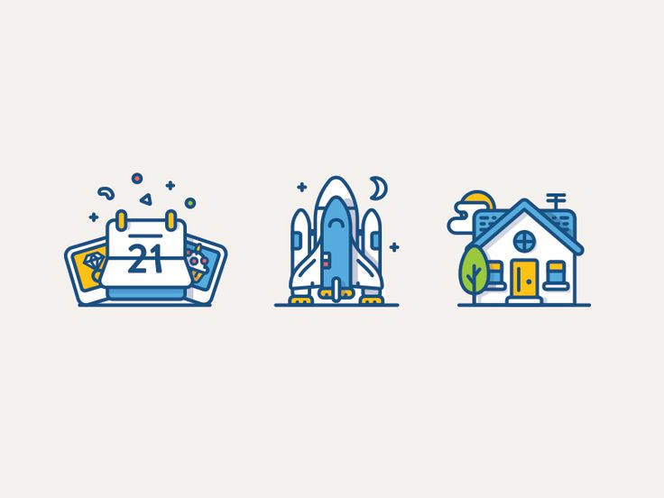 Illustrative icons by Andrew McKay http://iconutopia.com/inspiration/best-icons-of-the-week/