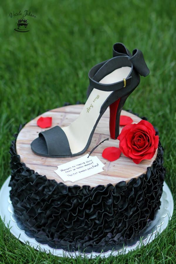 25 Best Ideas About High Heel Cakes On Pinterest High