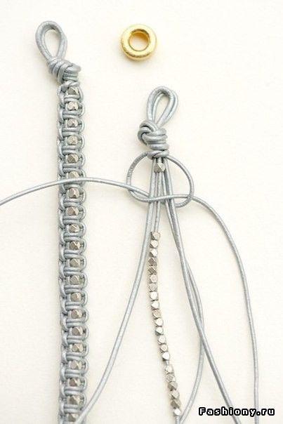 Плетенные браслеты своими руками ! / плетёные браслеты своими руками