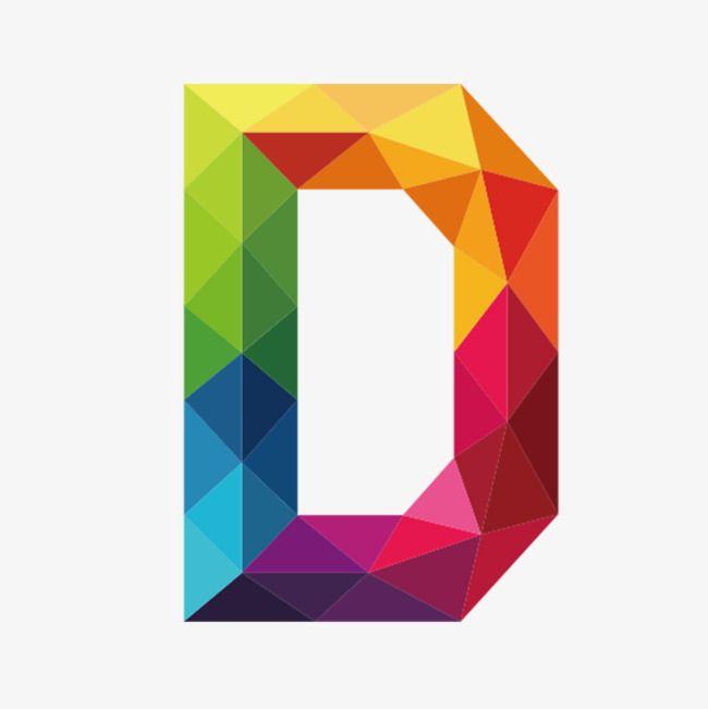 Color Clipart Letter Colour D Vector Diagram Decorate Png Decoration Png Graphics Vector Diagra Letter D Graphic Design Background Templates Barn Quilt Designs