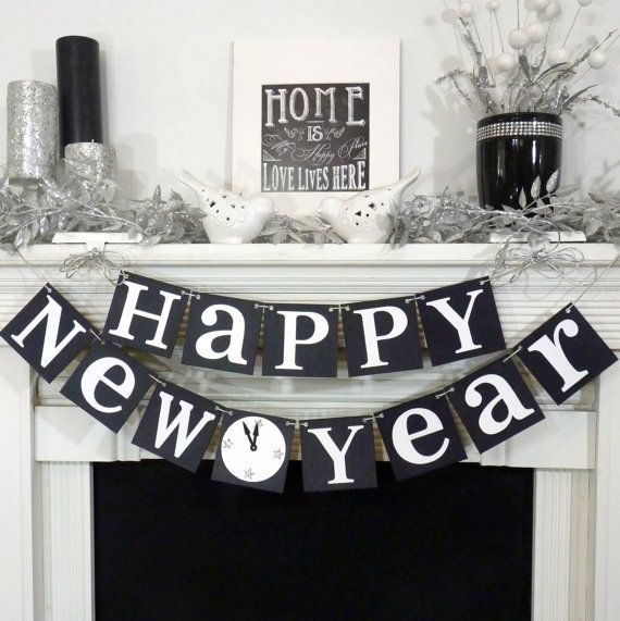 Happy New Years 2014 / New Years Party Decoration by BannerCheerJR, $26.00
