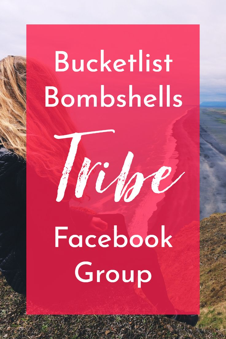 Bucketlist Bombshells Tribe - what this Facebook Group is really like  - via Create Wherever