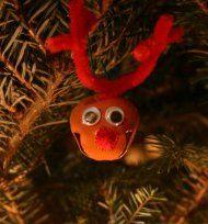 Jingly Reindeer Ornament