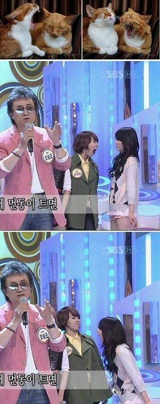 4minute's HyunA & Jiyoon fight during a broadcast? HAHAHAHA #allkpop #kpop #4minute #HyunA