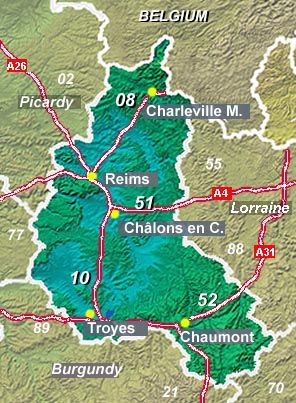 Champagne region overview - Need to look more into:  Langres (52) ; fortified hill town with 3.6 km of ramparts and city gates. Off the beaten track, the historic stone-built town centre is a r...
