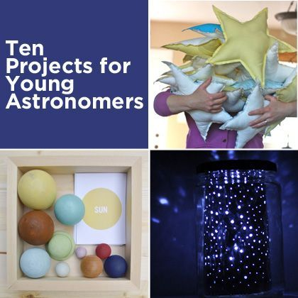 Projects for Young Astronomers || Spoonful #summer #activity #kids