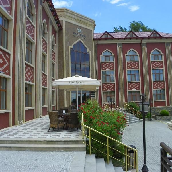 Sheki Palace Hotel Offering A Restaurant And A Fitness Centre Sheki Palace Hotel Is Located In Sheki 50 Metres From Kahn Palace Palace Hotel Hotel Hotel Offers