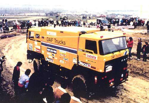Daf bicéphale De Rooy Dakar 85
