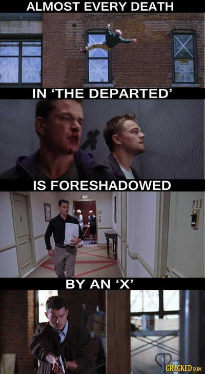 Interesting observations surrounding #the departed