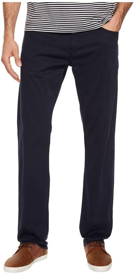 Mavi Jeans Zach Regular Rise Straight Leg in Royal Blue Twill Men's Jeans