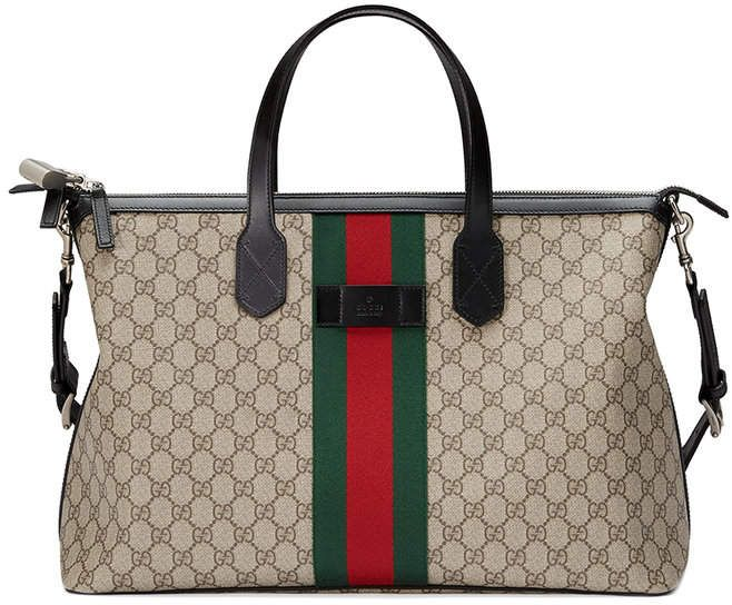 7949eb6b2a5 Gucci Web GG Supreme duffle bag  Gucci  purse  ShopStyle  MyShopStyle click  link for more information