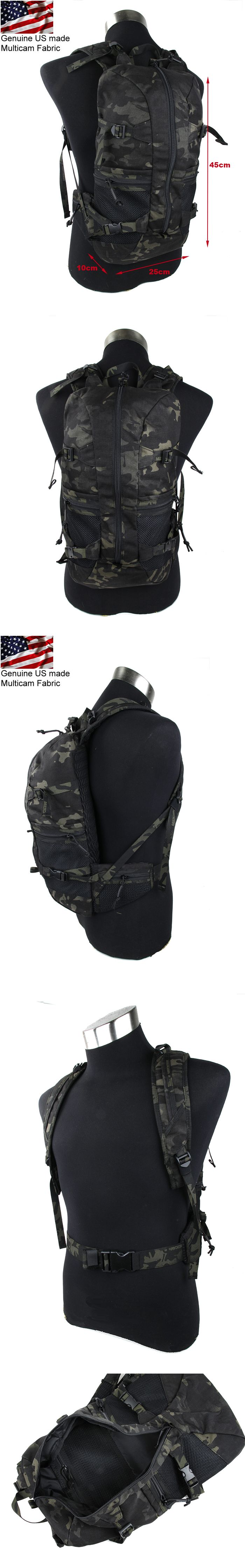 EbairSoft Airsoft parts & Tactical Gear - G Rasputin Item 3R01 Backpack ( Multicam Black ) RPT029-MCBK
