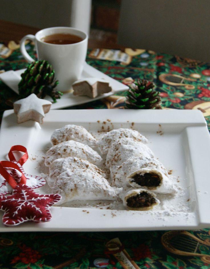 / włoskie ciasteczka z kasztanami - Italian chesnut cookies