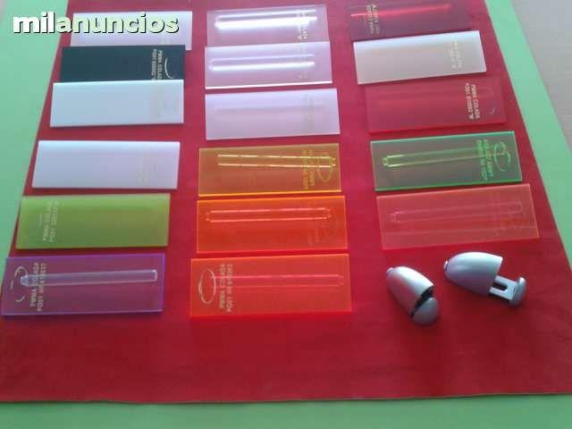 . Vendo planchas de metacrilato en diversos colores  precios transparentes NUEVAS planchas transparentes todas las medidas: 100x50x3mm  20� la pieza 100x100x3mm 36� la pieza planchas 100x65x5mm a 6 � kilo planchas en color y jaspeadas imitando al marmo
