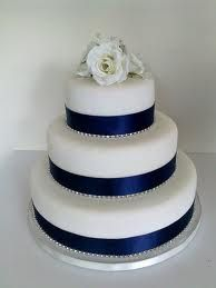 wedding cake silver ribbon 1000 ideas about navy wedding cakes on navy 24552