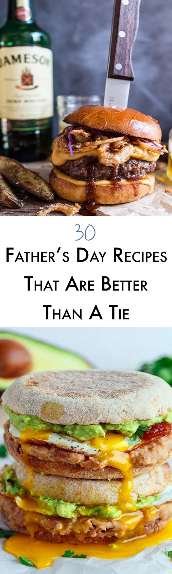 This year instead of giving dad another tie cook him one of these amazing Fathers Day recipes! From drippy egg breakfasts, meat recipes for days and desserts that will make your mouth water, we have something for every special dad in your life.