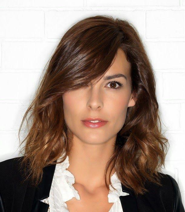 moda cabellos cortes de pelo para mujeres con cara alargada