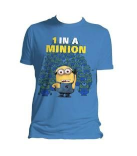 CAMISETA MINIONS 1 IN A MINION