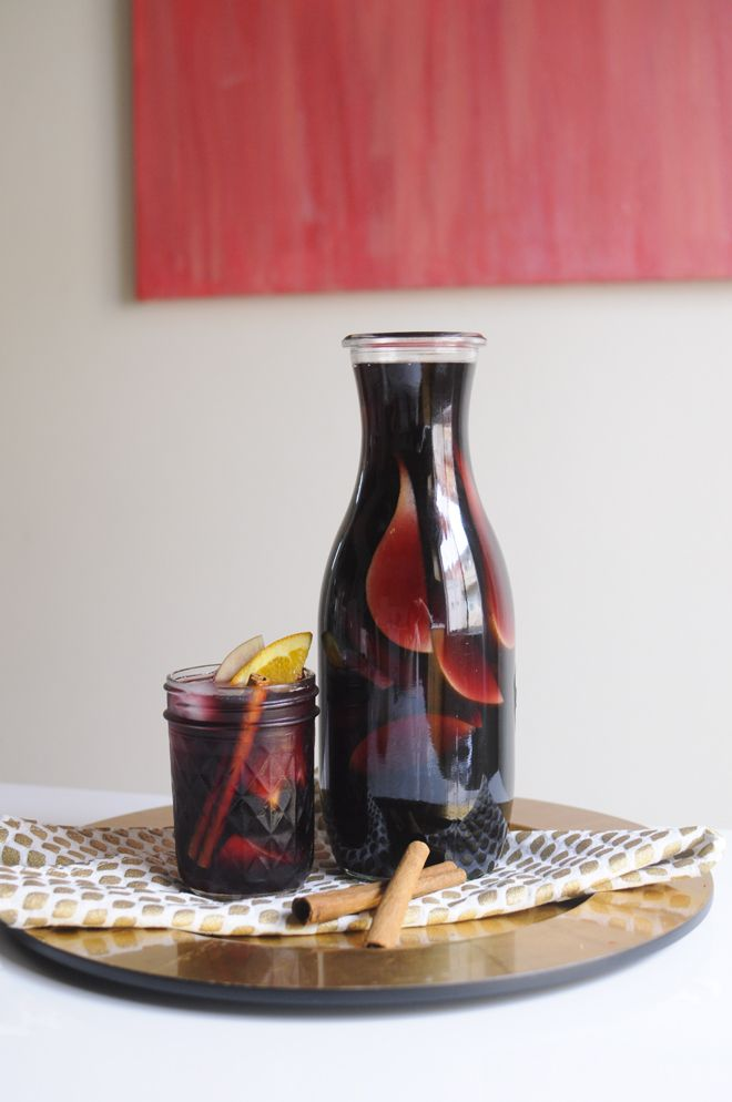 autumn bourbon sangria | the life styled