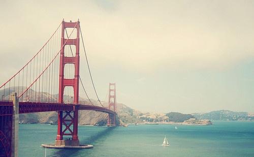 San Francisco, Golden Gate Bridge...time to return