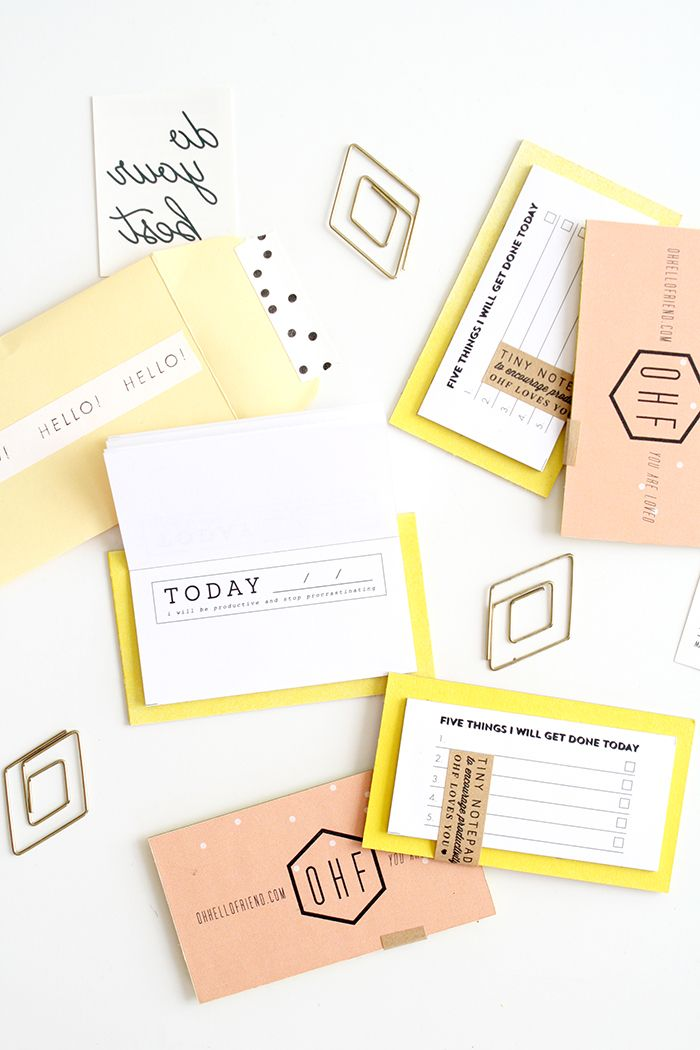 oh, hello friend // clever business cards: Graphic Design, Cute Business Cards, Art Design, Notepad Business, Clever Business