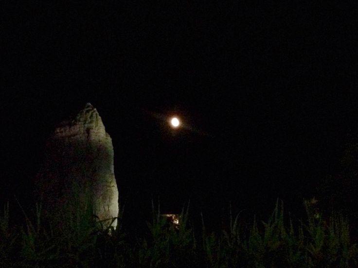 Pizzomunno al chiaro di luna