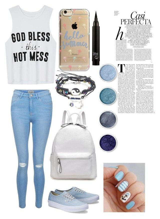"""""""Summer girl"""" by loekievanede on Polyvore featuring mode, New Look, Agent 18, Terre Mère en Whiteley"""