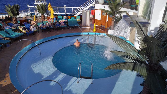 Carnival Sunshine Cruise Review Cruise Reviews Pools And Serenity