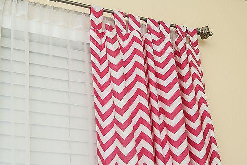 #Tutorial: Easy Sew #Curtains #DIY