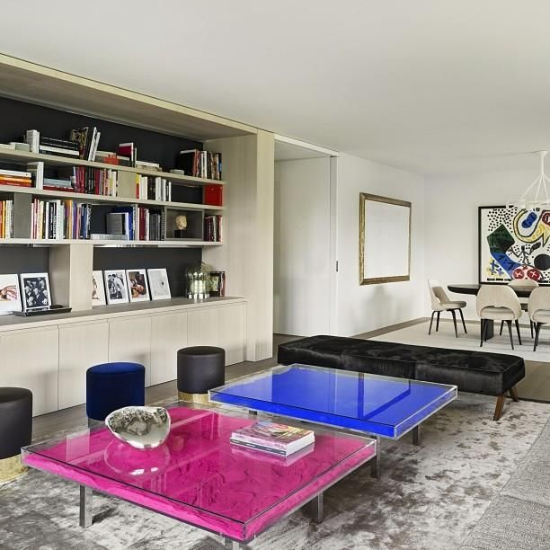 Table Ikb By Yves Klein B O O K C A S E S In 2019 Yves