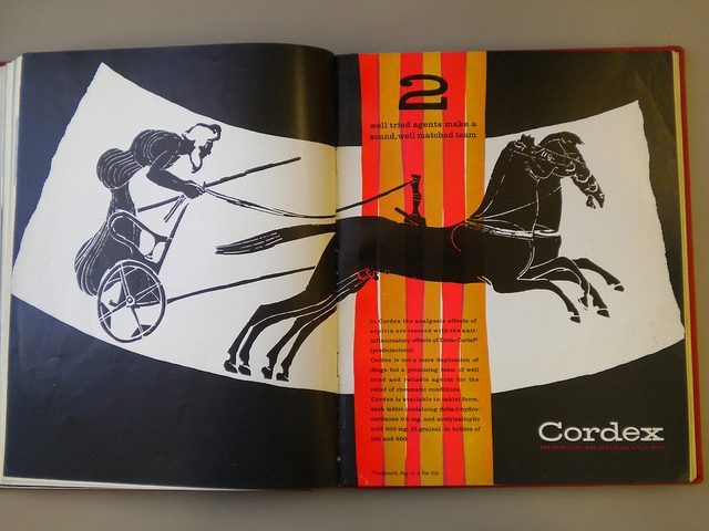 Will Burtin Cordex Ad Designed For Scope Magazine