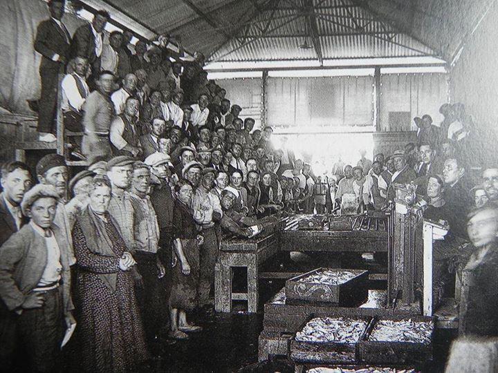 1920: Fish market in Porto Corsini. Thanks to Roberto Stanghellini - Photo by C'era una volta Ravenna on Facebook [ #ravenna #myRavenna]