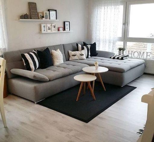 On instagram by dekorasist #homedesign #contratahotel (o) http://ift.tt/1SjhsMq stilin hakimiyetindeki salonda gri koltuk siyah ve beyaz aksesuarlarla tamamlanmış.. #evdekorasyonu #dekorasist #decor #dekorasyon #decor #decoratoin