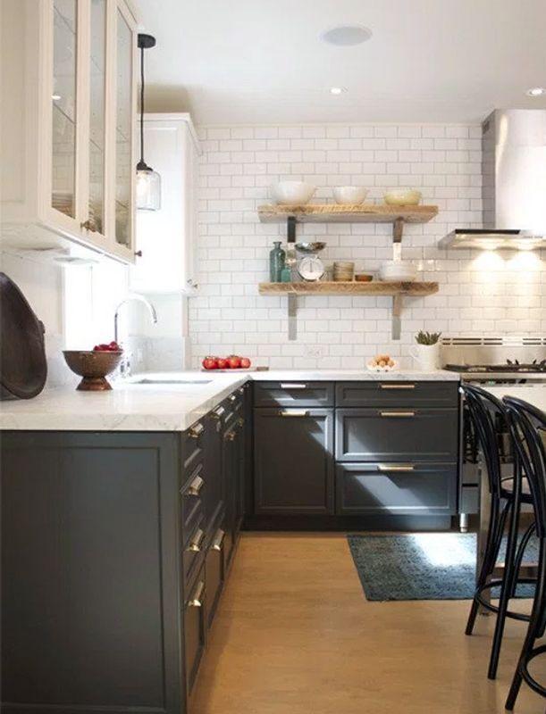 GE Slate Appliances (Copy Cat Chic). White CabinetsWhite ...