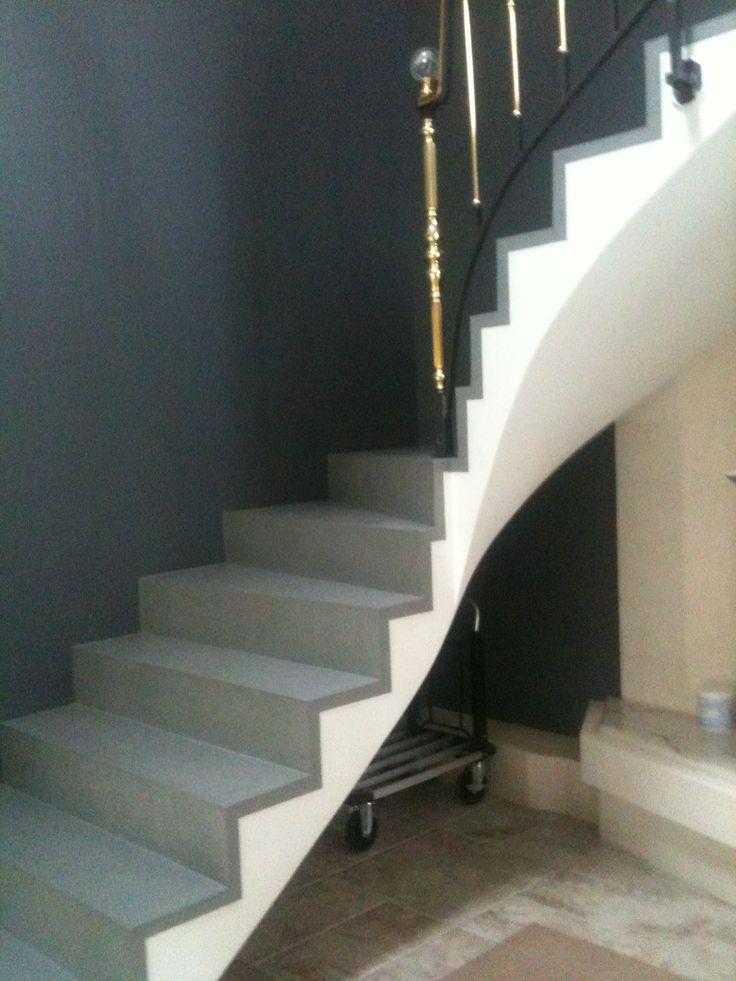 8 best Escalier en béton ciré images on Pinterest | Home, Stairs ...