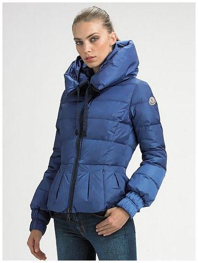 Moncler Femme Vest Fourreau Bleu-Violet - moncler outlet
