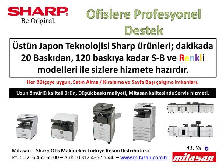 Sharp, Yazıcı, Renkli Fotokopi