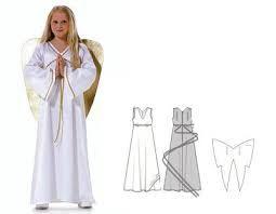 Resultado de imagen de patron disfraz angelito
