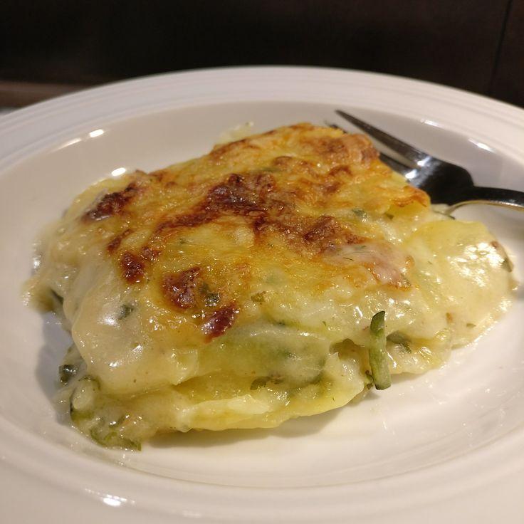 Kartoffel-Zucchini-Gratin // Potato Zucchini Gratin