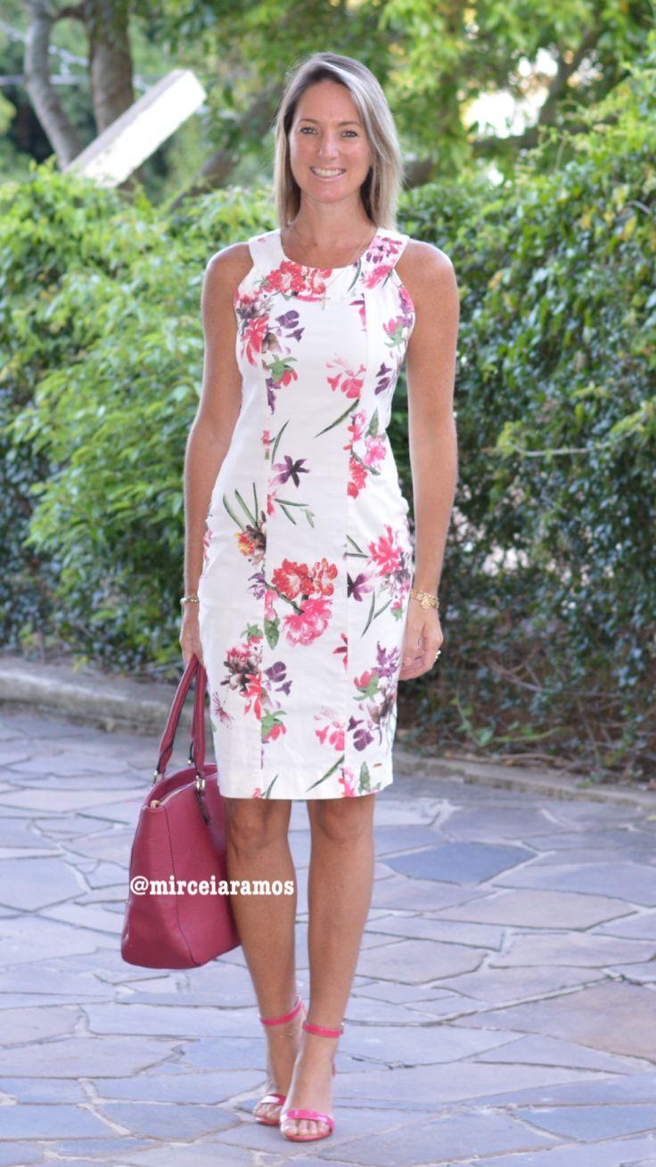 Look de trabalho - look do dia - look corporativo - moda no trabalho - work outfit - office outfit - spring outfit - look executiva - summer outfit - vestido estampado - dresses - floral