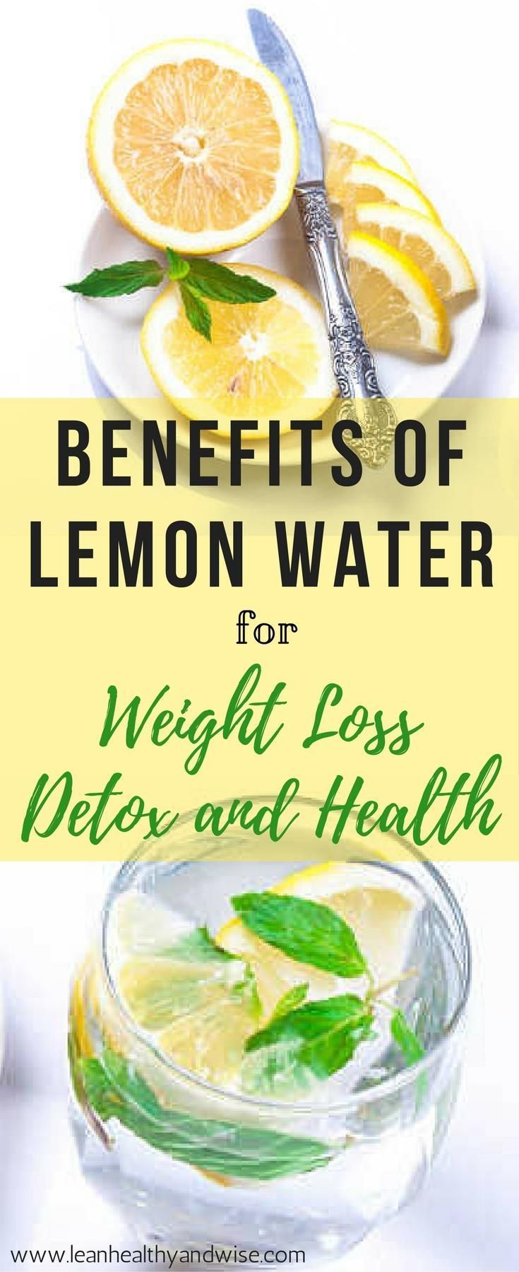 Lemon is known for its medicinal, antibacterial and therapeutic properties. Discover the health benefits of lemon water for detox, weight loss and wellness. via @leanhealthywise