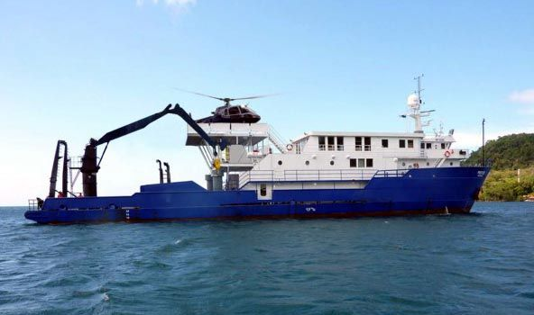 175 oceanographic research vessel proteus yachts marine for Ocean explorer fishing