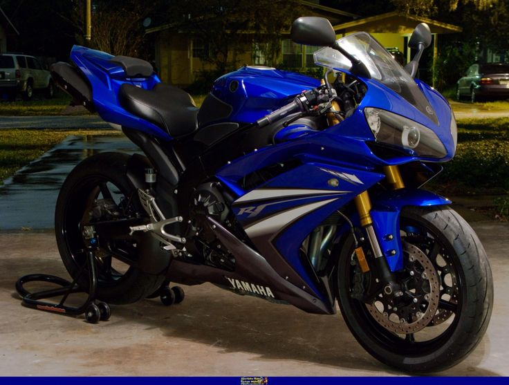 My current ride.  2007 R1.  Replaced my R6 when it was totaled.