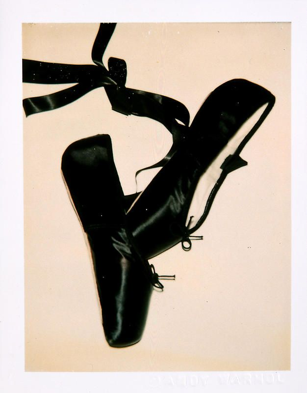 Andy Warhol - Ballet Slippers, 1981.