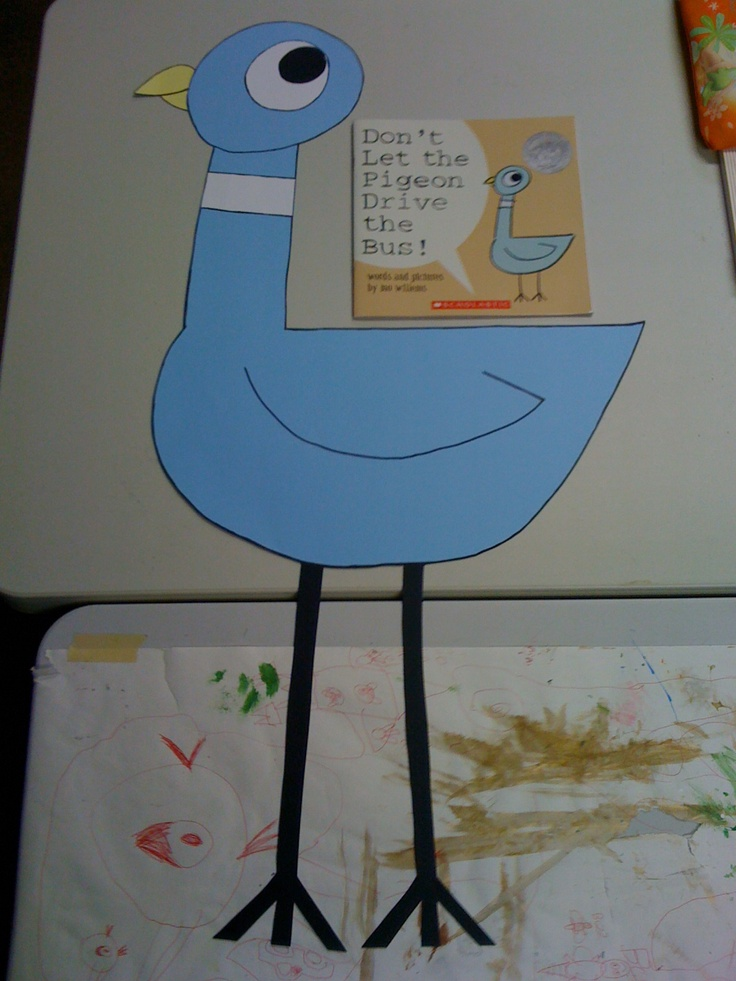CMOM Productions: Mo Fun Projects    Mo Willems Inspired Projects